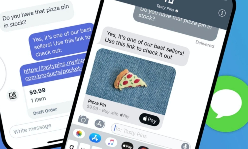 Shopify iMessage Business Chat