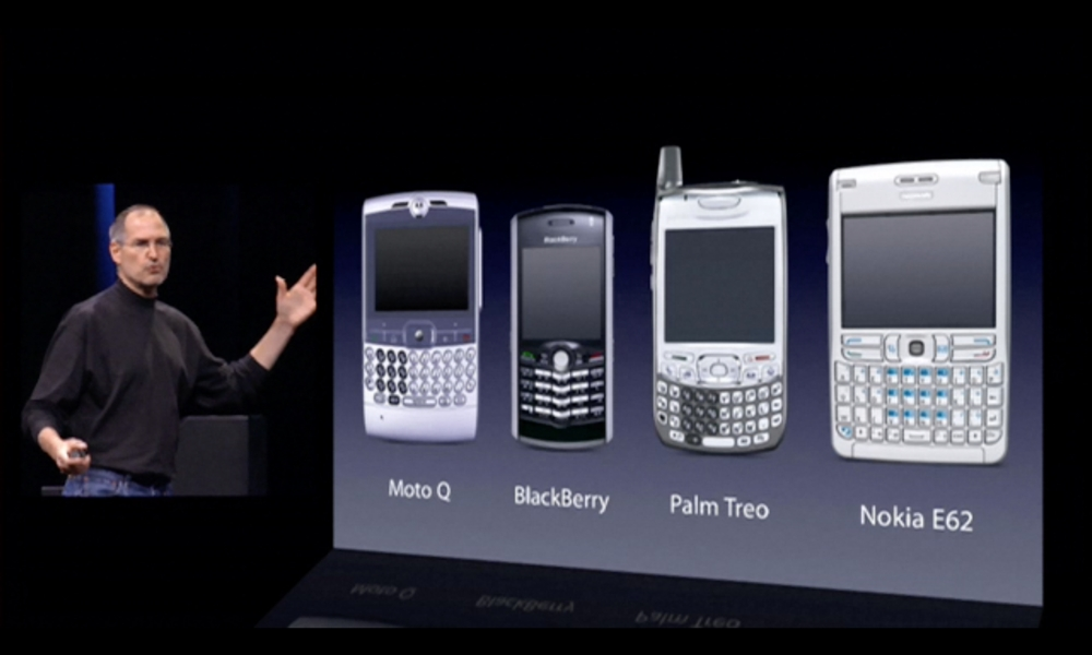 iPhone 2007 Unveil Keyboard Phone