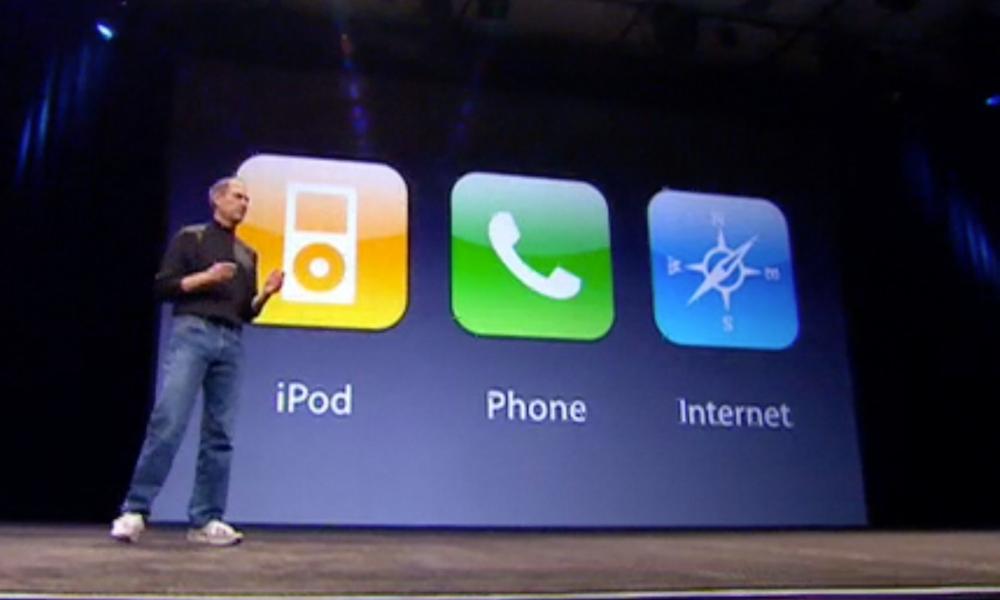 Steve Jobs 2007 iPhone Unveil