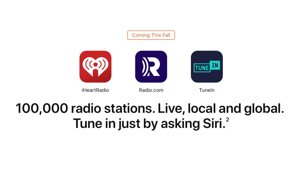 HomePod 100,000 Radio Stations