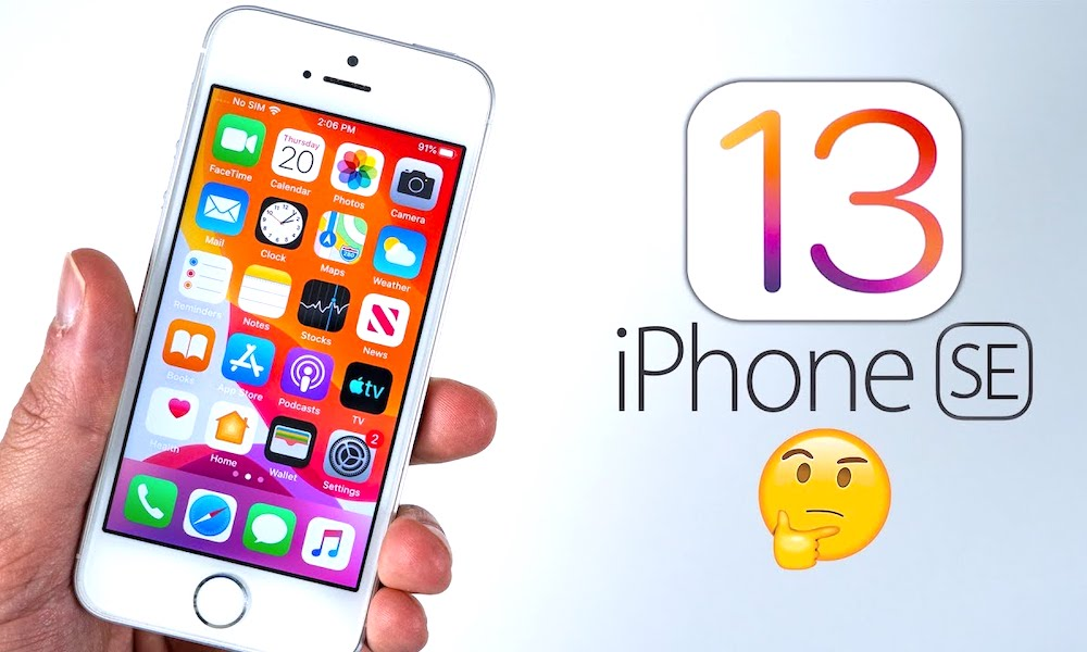 Iphone Se Ios 13