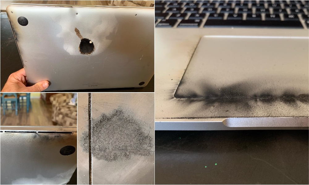 15 Inch Macbook Pro Battery Fire And Explosion