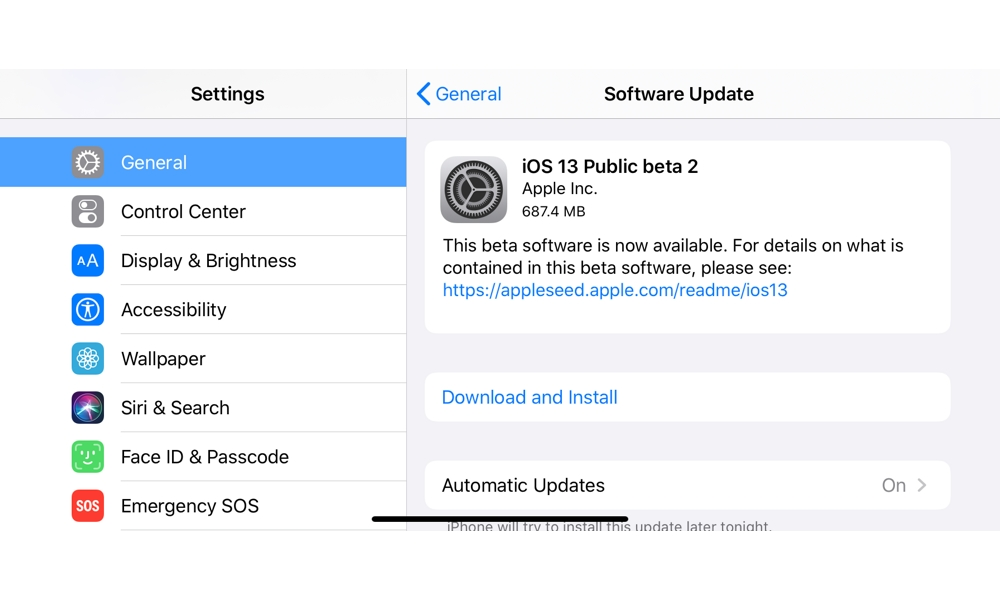 iOS 13 Public Beta 2 Available Now: Here's What's New (and How to