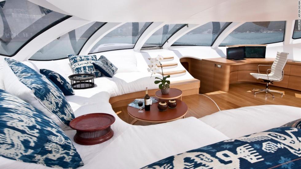 Adastra Yacht Interior