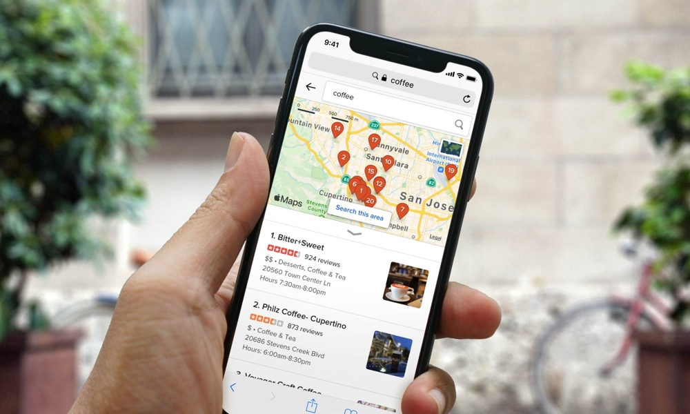 DuckDuckGo With Apple Maps
