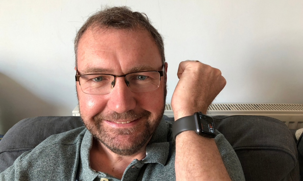 Apple Watch saves Paul Hutton
