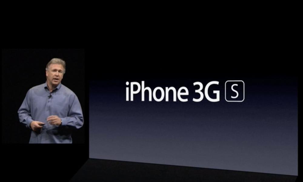 Phil Schiller Intros iPhone 3GS