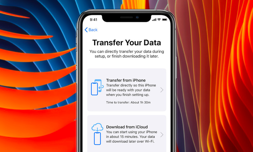 How To Tranfer Data From Iphone To Iphone Using Ios 12 4