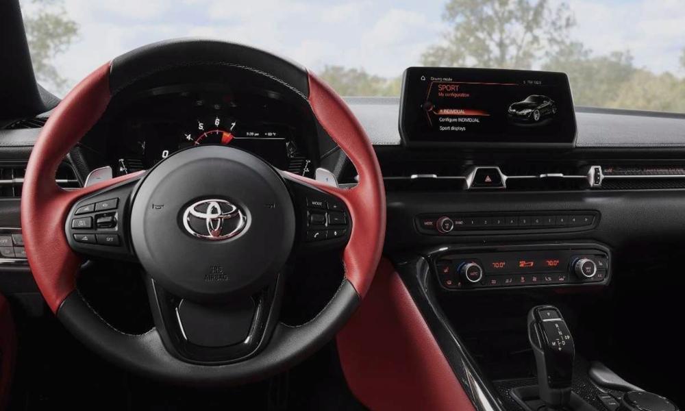 2020 Toyota Supra CarPlay