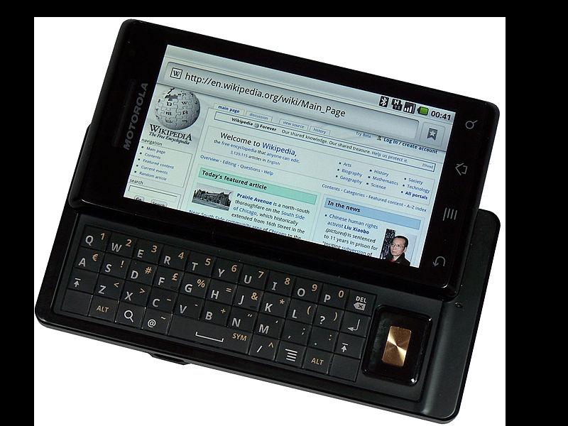 Motorola Droid 2009