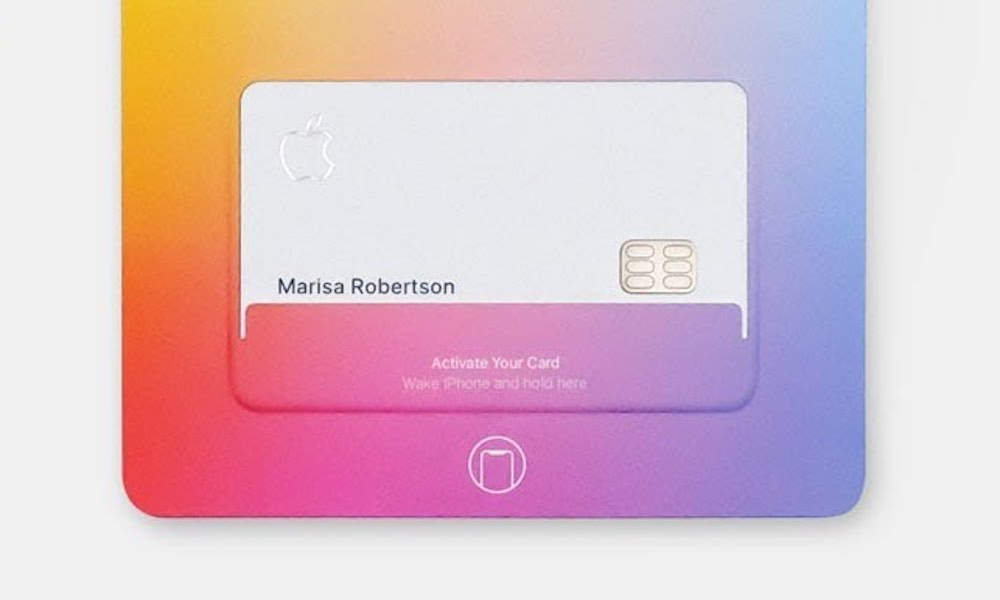 Apple Card Titanium