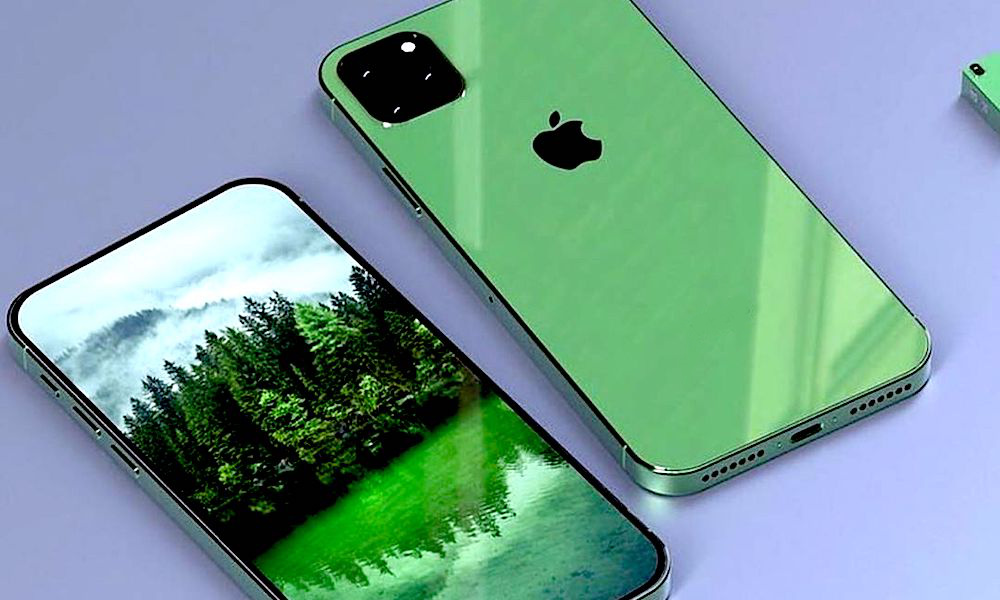 Green Iphone 2019 Concept
