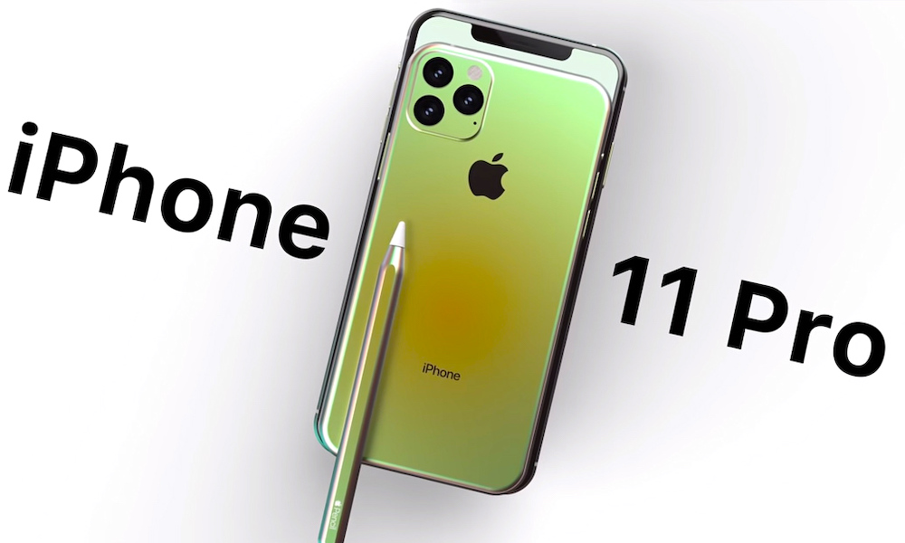 Iphone 11 Pro Concept Image