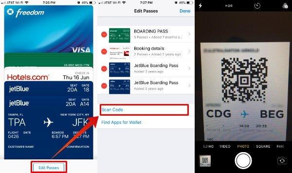 Wallet Qr Code Scanner