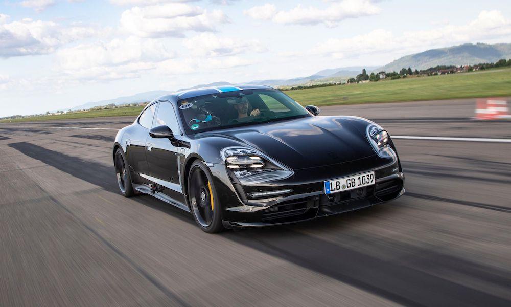 Porsche Taycan Sprint Promo