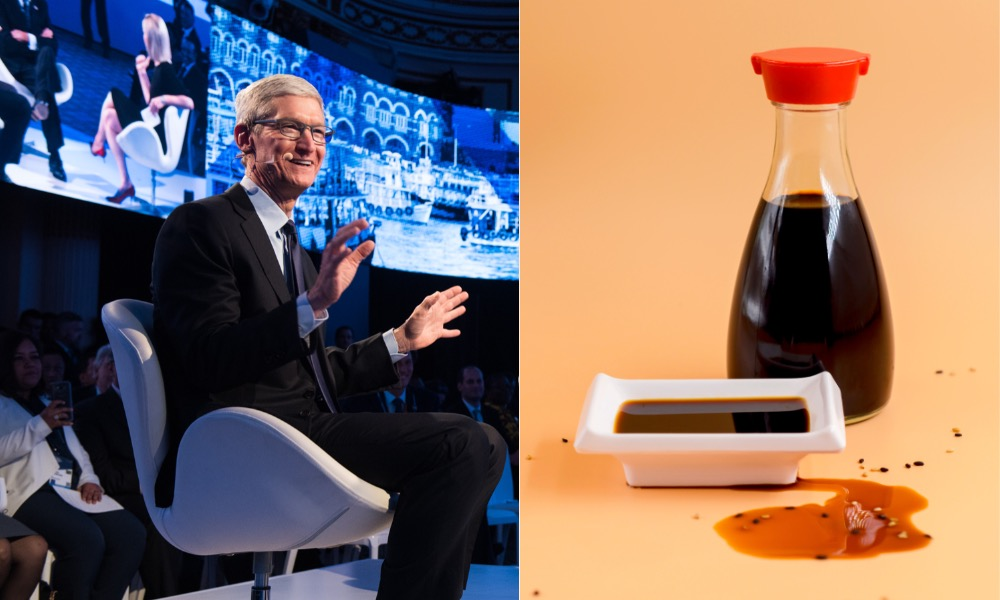 Tim Cook Soy Sauce