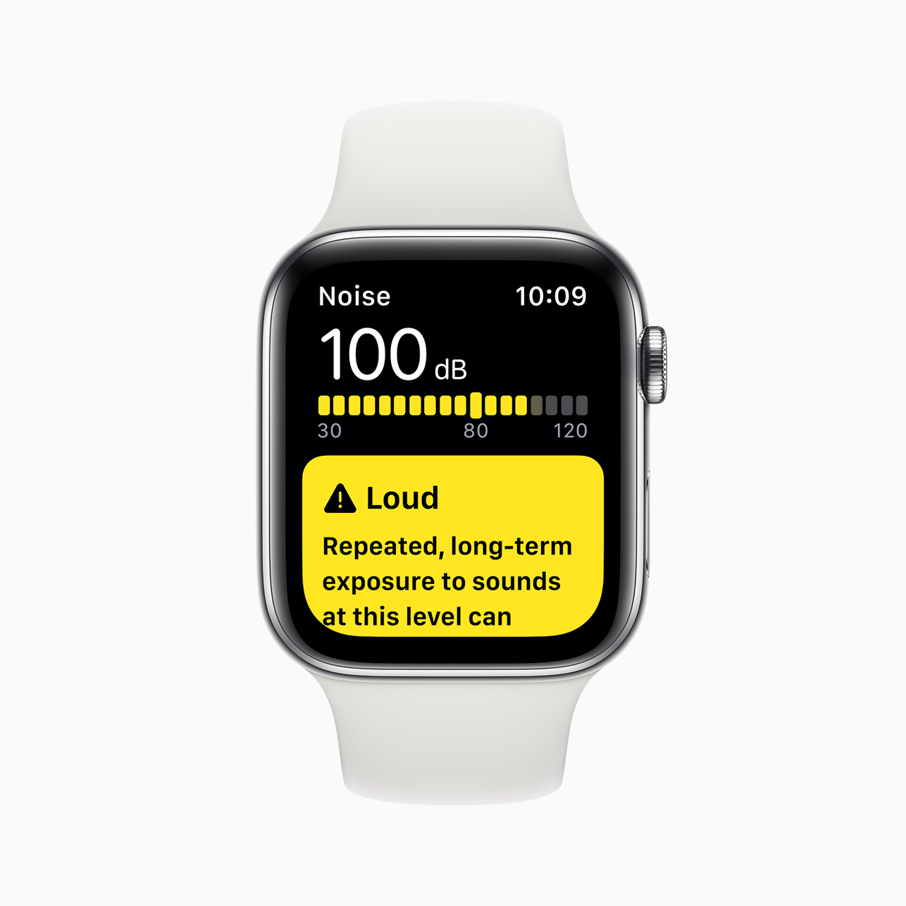 Apple Watch Series 5 Noise App Screen 091019