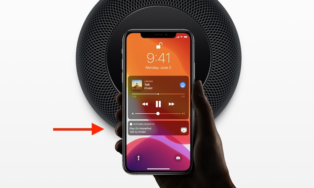 Homepod Handoff Feature