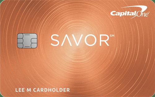 Capital One Savor Credit Card