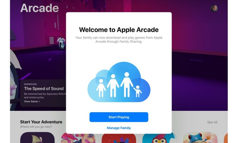Who Can You Actually Share Your Apple Arcade Subscription With?