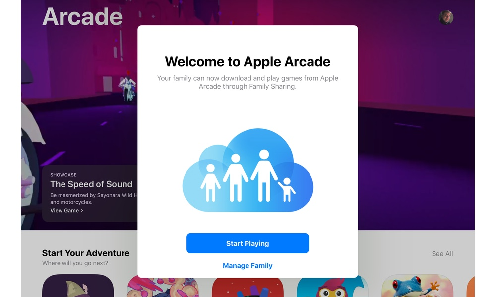 Welcome To Apple Arcade