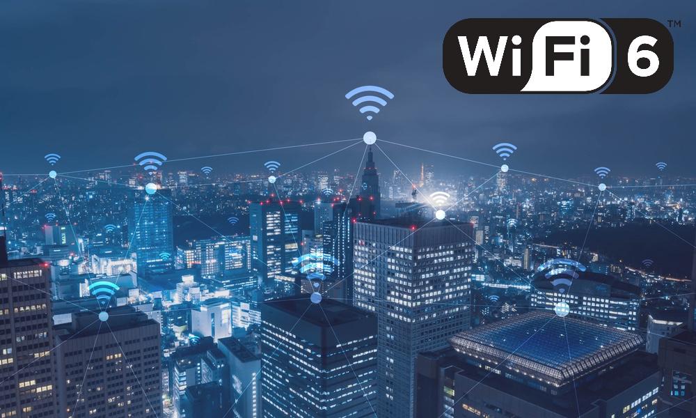 Wi Fi 6 Cityscape
