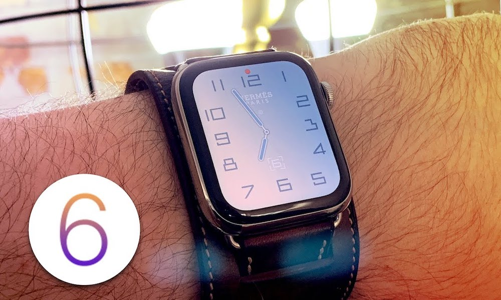Watchos 6 Officially Released