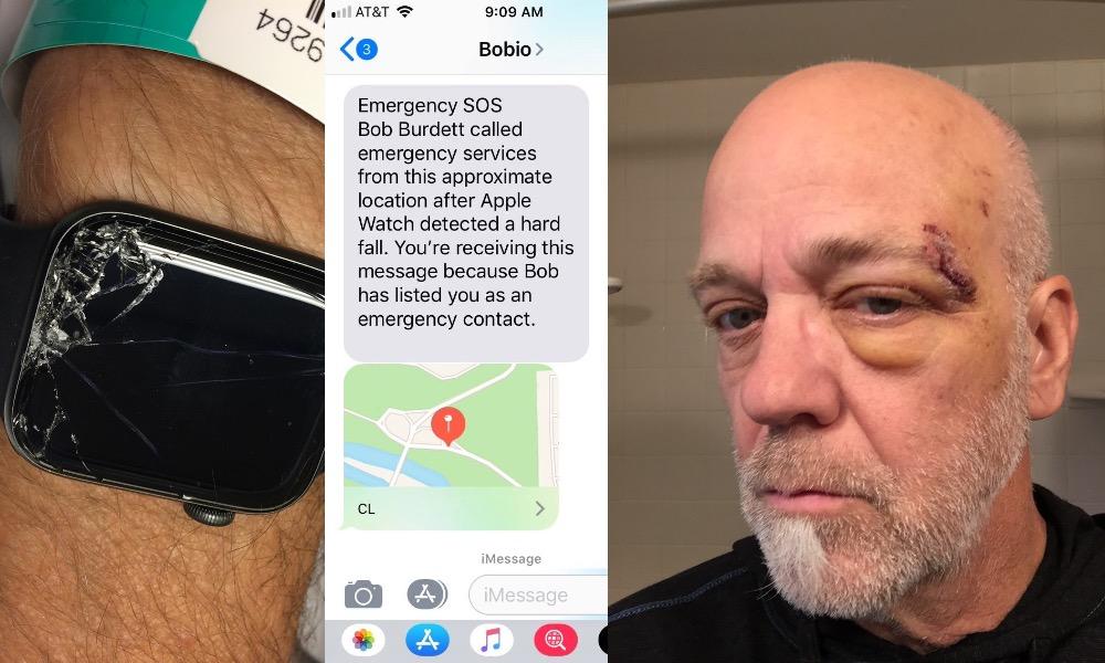 Bob Burdett Apple Watch Bike Accident