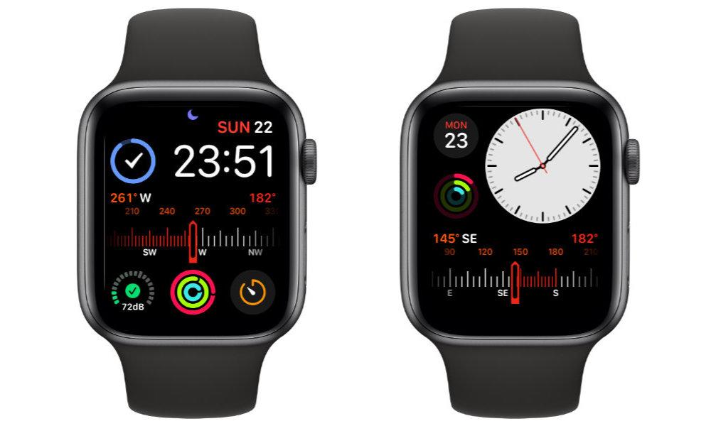 Apple Watch S5 Compass Complications
