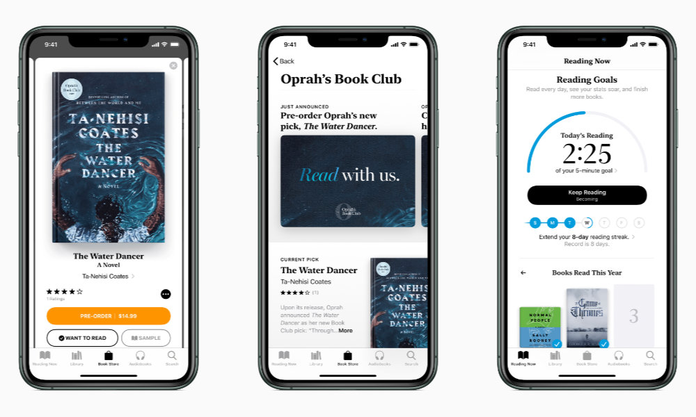 Oprah's Book Club on iPhone