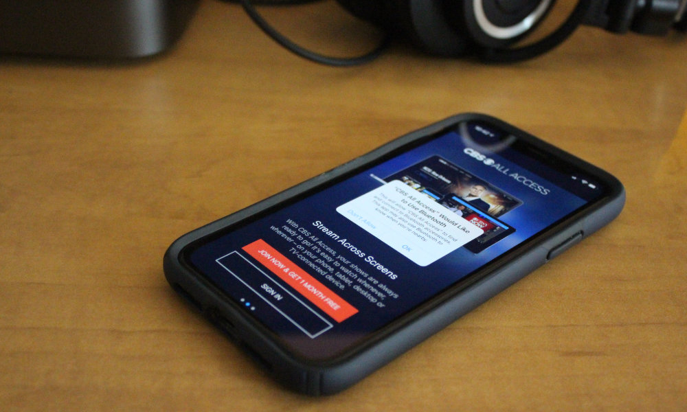 iPhone iOS 13 Bluetooth Permission Request