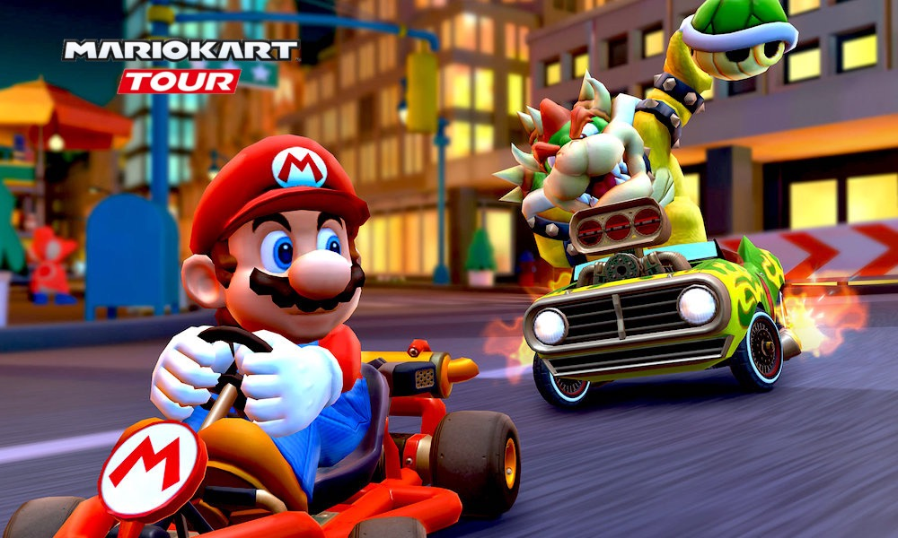 Mario Kart Tour is now available on Android and iOS