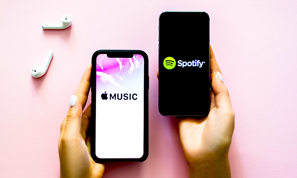 Spotify Apple Music iPhone