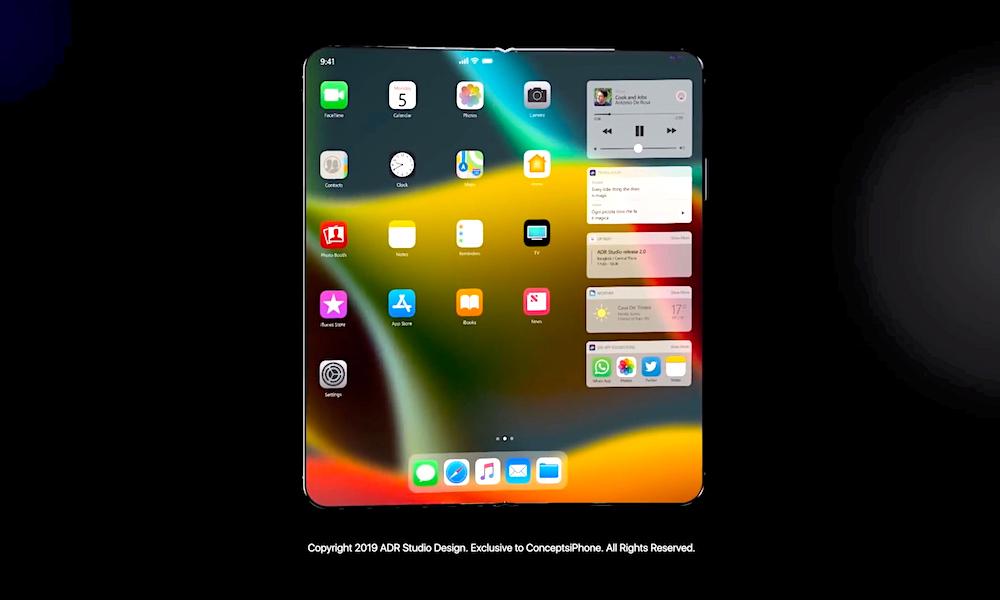 Folding Iphone Concept