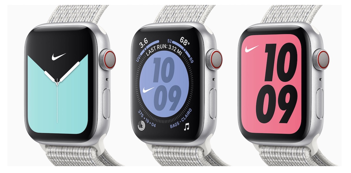 Fracaso fluido Ejecutable  What's the Difference Between the Nike Apple Watch and the Regular Series 5?