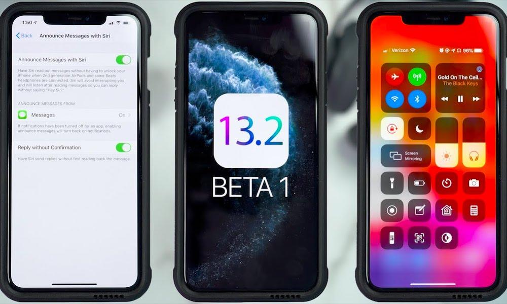 Ios 13 2 Beta 1