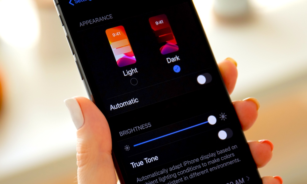 How To Turn On Dark Mode Ios 13