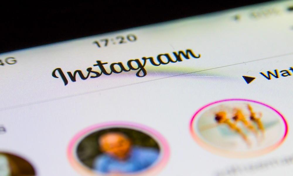 Instagram Following Tab