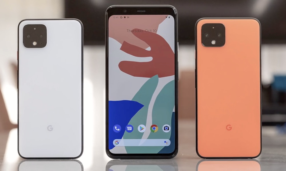 Google Pixel 4 Back And Front