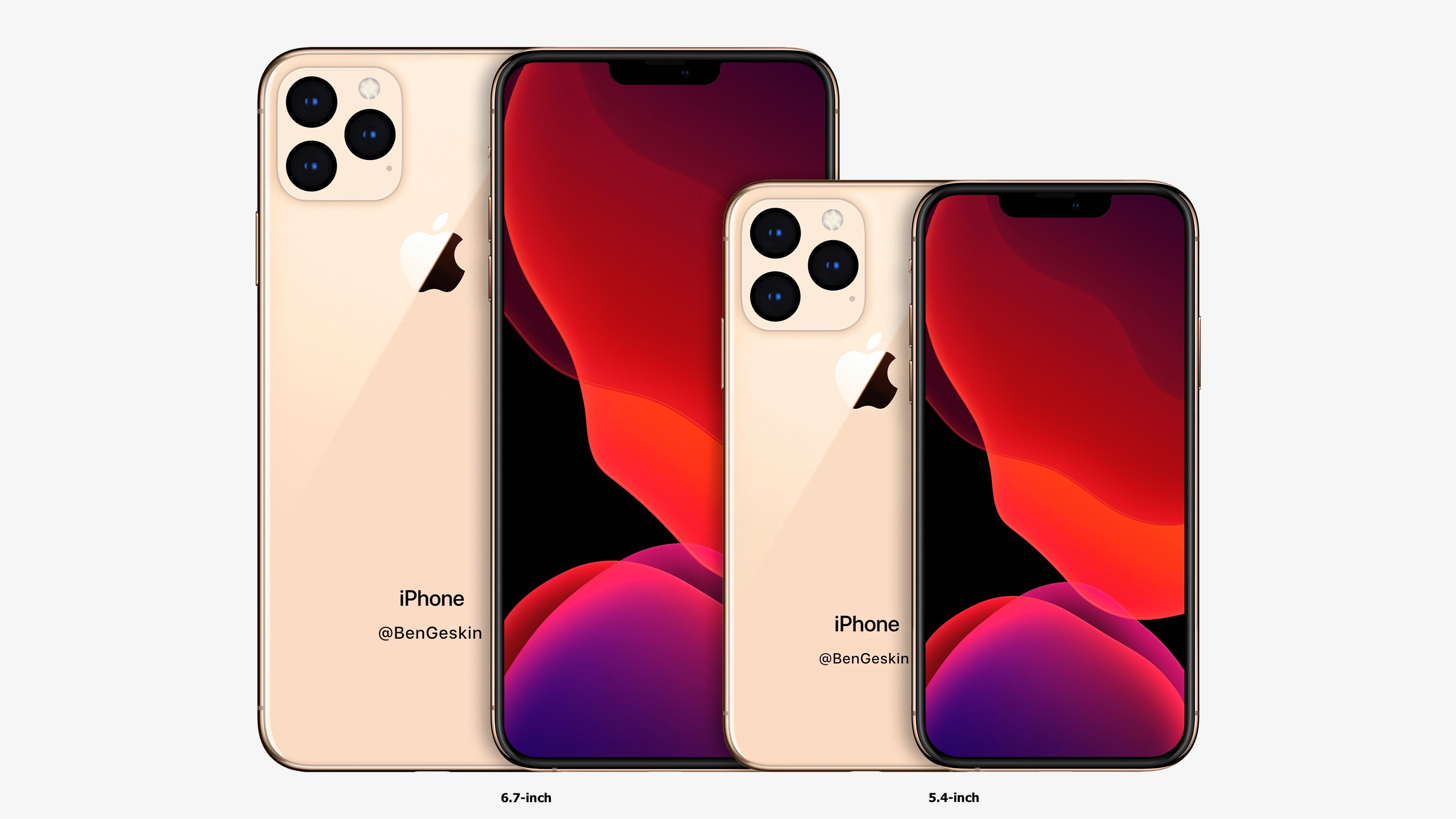 iPhone 12 Pro Concept Size Comparison