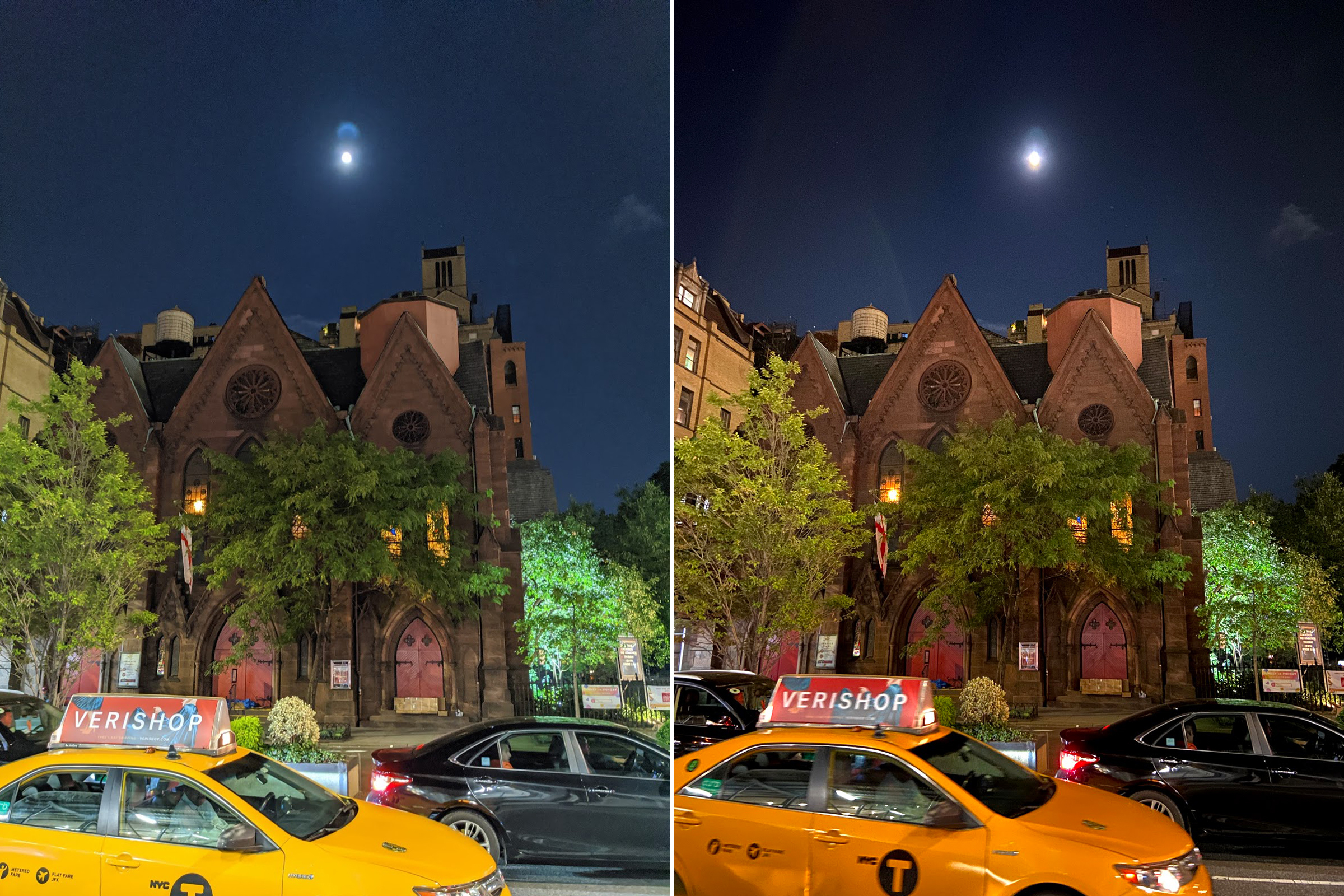 iPhone 11 Night Mode vs Google Pixel 4