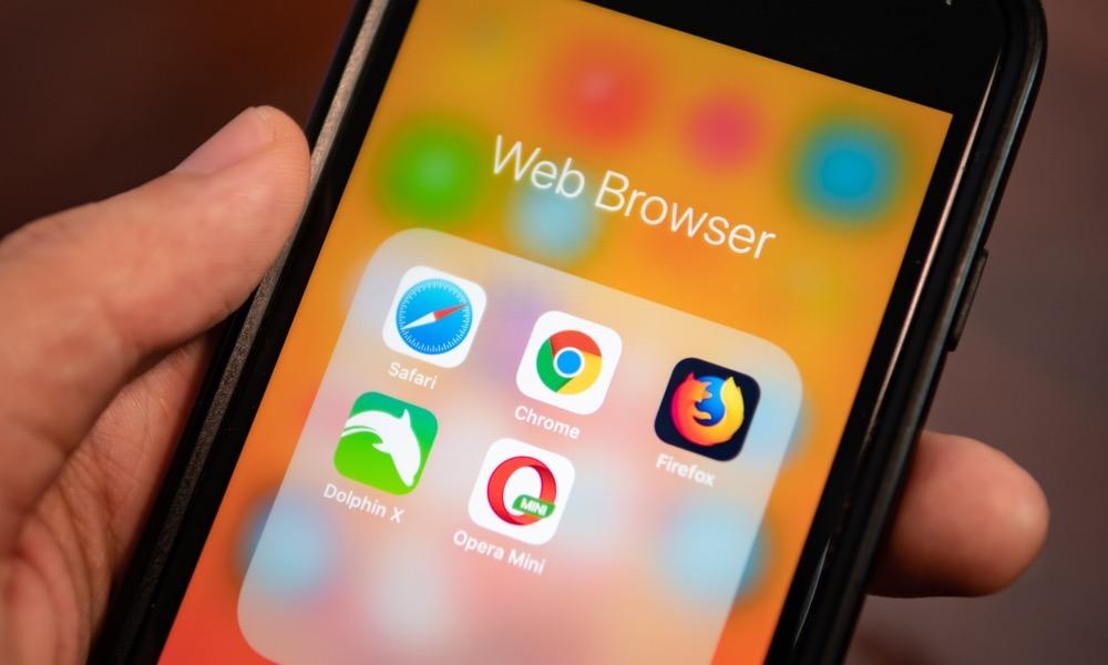 Firefox Web Browsers Safari Crhome Opera Dolphin