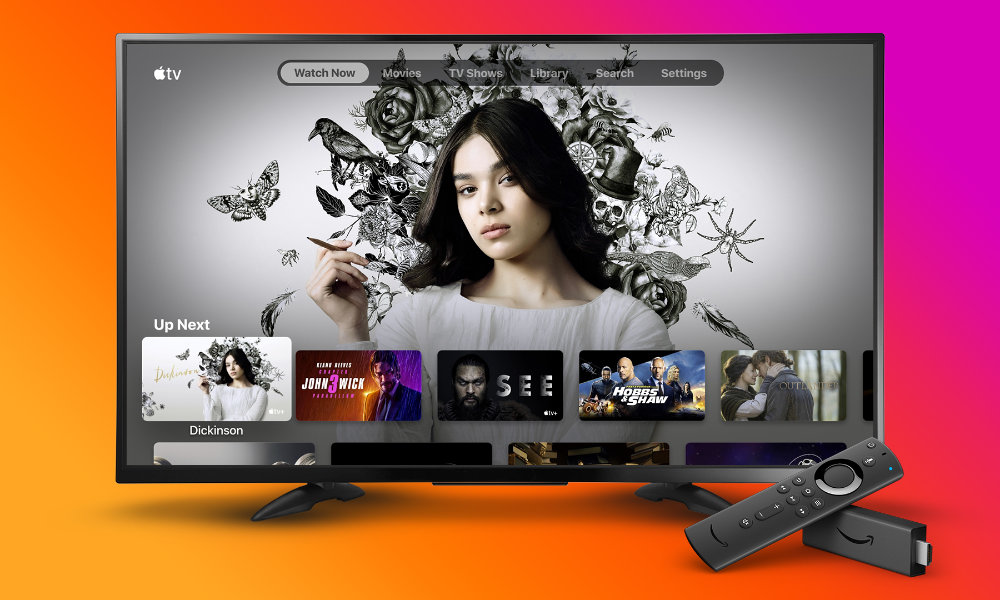 Apple TV on Amazon Fire TV