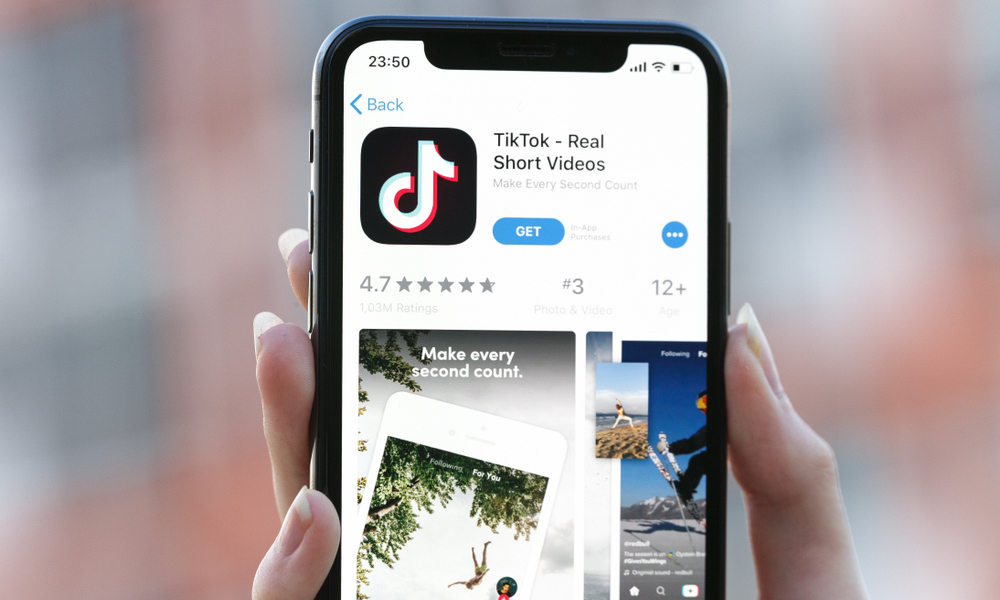 TikTok iPhone App Store