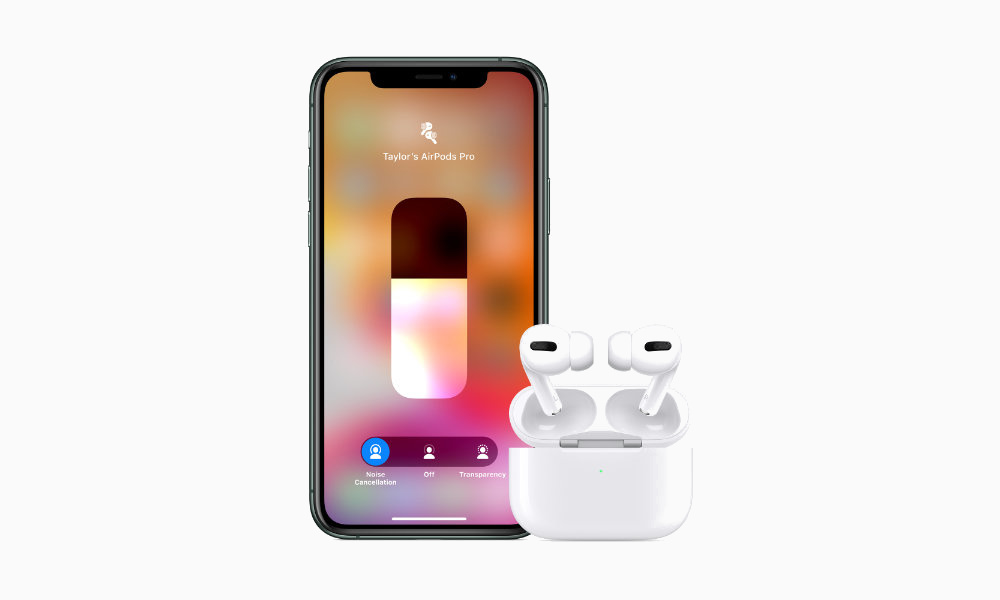 AirPods Pro Control Center