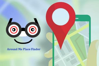 Around Me Place Finder 390x260