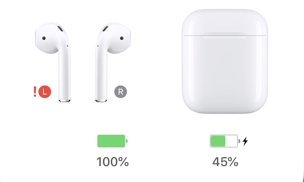 Airpods Red Exclamation Point Glitch