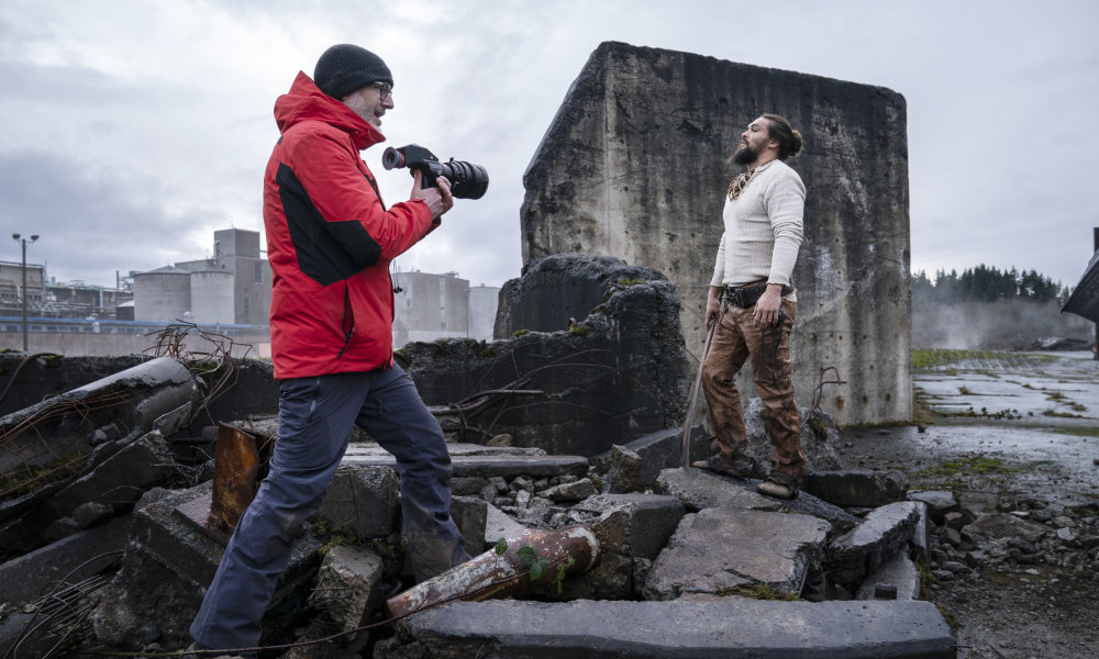 See Director Francis Lawrence On Set