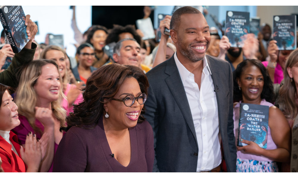 Oprah with Ta Nehisi Coates