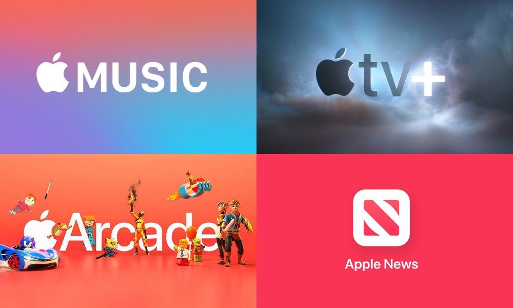 Apple Music Apple TV Apple Arcade Apple New Super Bundle